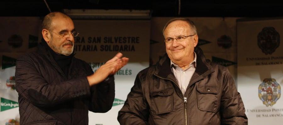 José Luis Sánchez Paraíso en un acto