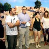 Mari Carmen Vidal, Sara Bellés y Begoña Molina, en representación de los artistas, han detallado qué se encontrarán los visitantes cuando visiten el centro histórico y otros emplazamientos donde expondrán sus obras.