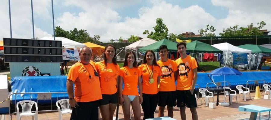 Integrantes del Elche Club Natación