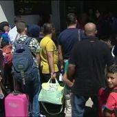 Llegan a España 204 refugiados