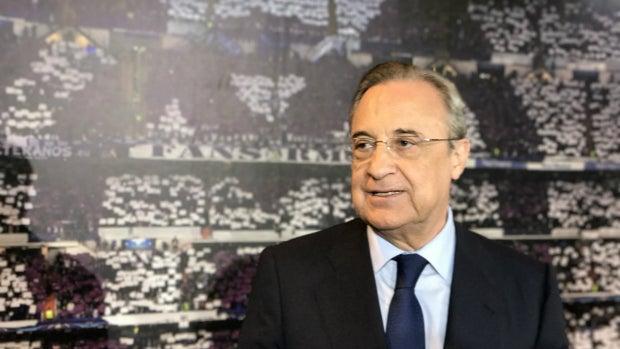 """Florentino Pérez: """"Han sido dos partidos espectaculares, lo hemos merecido"""""""