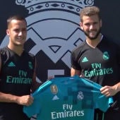 Lucas Vázquez y Nacho, con la tercera equipación