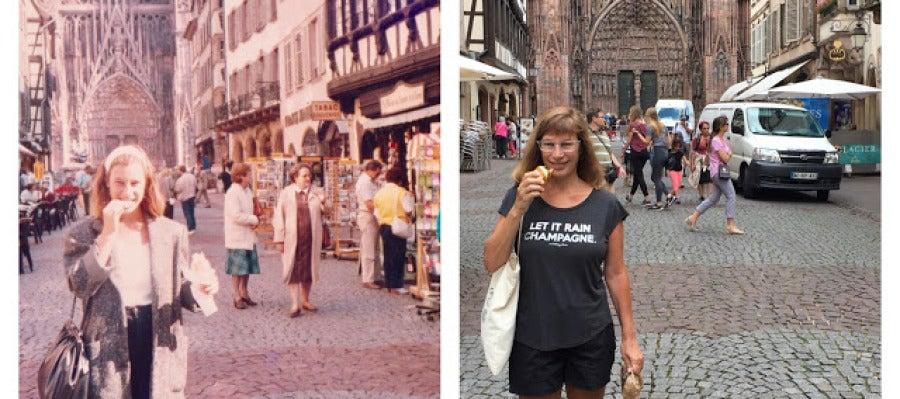 Lisa Werner en Estrasburgo.