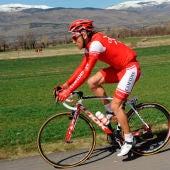 El ciclista Luis Ángel Mate.