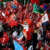 Manifestantes en Ankara