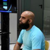 Youssef Mohamed Tuileb durante el juicio en la Audiencia Nacional