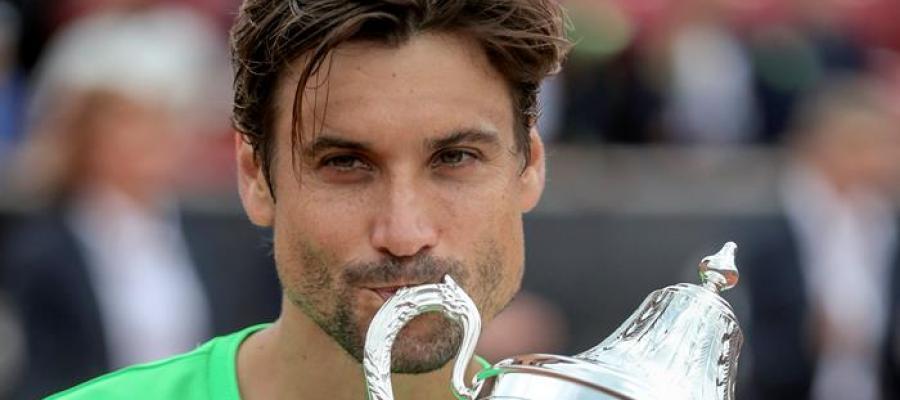 El tenista español, David Ferrer.