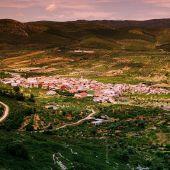 Vista aérea del municipio de Tírig
