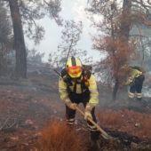 Incendio en Molinicos