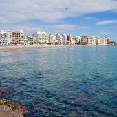Imagen de la Playa del Grao de Castellón.