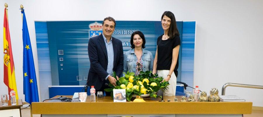 Enrique Bretones, Eva Bartolomé y Ruth Betia