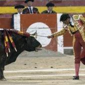 Francisco Rivera Paquirri durante la corrida de toros de Palma