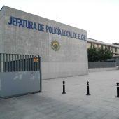 Jefatura Local de la Policía Local de Elche.