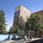 Fachada del Hospital Clínico de Valladolid