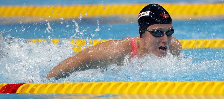 La nadadora Mireia Belmonte