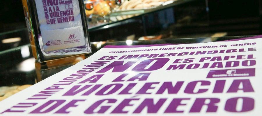 No a la violencia de género, imagen de archivo