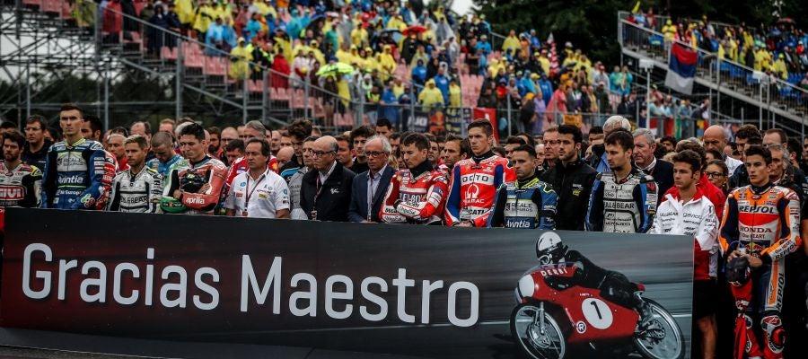 Minuto de silencio en Brno