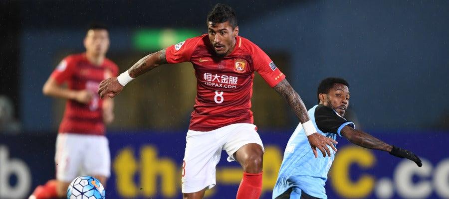 Paulinho en la liga China