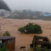Las inundaciones de Sierra Leona están provocando la anegación de muchas carreteras