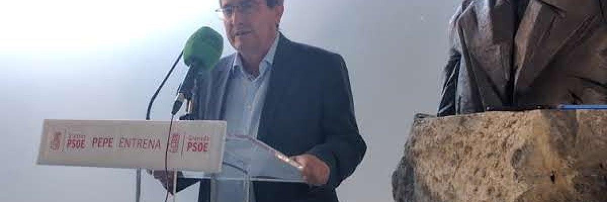 José Entrena se presenta a la secretaría provincial del PSOE