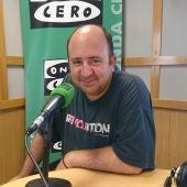 Juan Luis García en los micrófonos de Onda Cero.