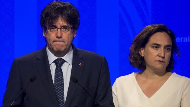 """Carles Puigdemont: """"Sospechamos que algún terrorista está suelto, pero no sabemos si con capacidad para hacer daño"""""""