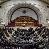 Vista general del Parlamento venezolano