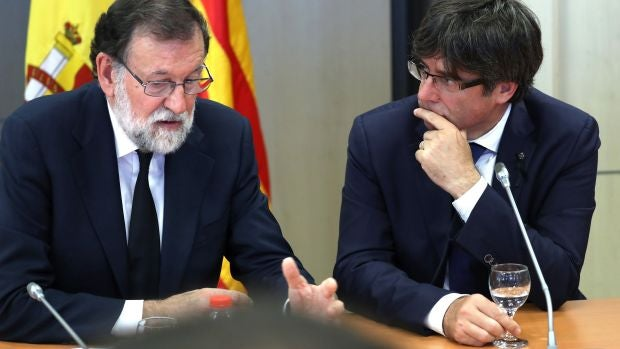"""Rubén Amón:  """"¿No os parece que Rajoy y Puigdemont no son Karpov y Kasparov sino, más bien, Isner y Mahut en Wimbledon 2010?"""