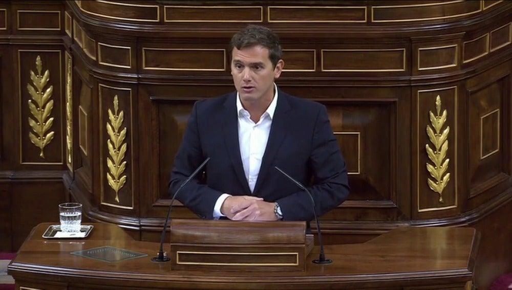 Albert Rivera presentará el lunes un proyecto de ley para limitar los mandatos del presidente del Gobierno