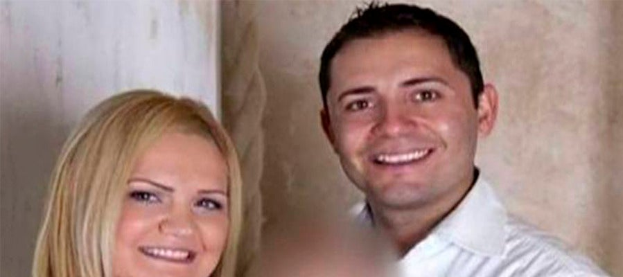 Pilar Garrido y su marido, Jorge Fernández