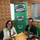 Thalía Rodríguez y Fernando Castellano. Onda Cero Canarias. Informativos