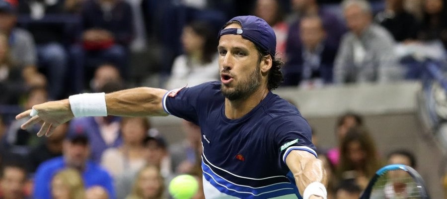 Feliciano López en el US Open