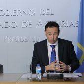 Fuillermo Martínez, consejero de Presidencia del Principado de Asturias
