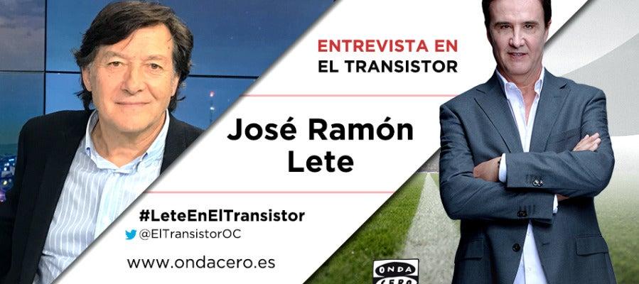 José Ramón Lete en El Transistor