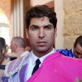 Cayetano Rivera en la despedida de los ruedos de su hermano Francisco Rivera