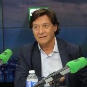 José Ramón Lete, presidente del CSD en El Transistor