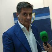 El entrenador del Málaga, Míchel González del Campo.