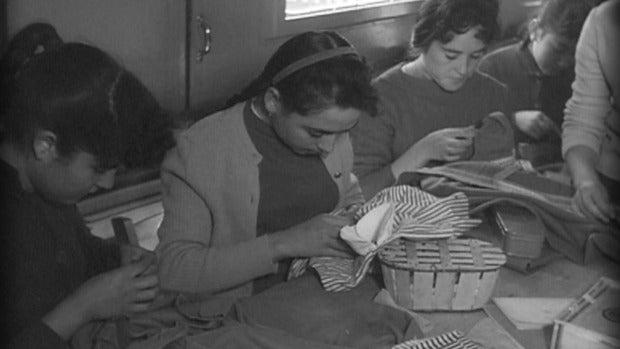 ¿Cómo fue el servicio doméstico durante el franquismo?