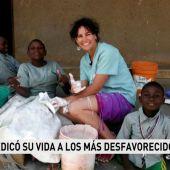 Lorena Enebral, fisioterapeuta de 38 años