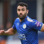 El jugador del Leicester City, Vicente Iborra.