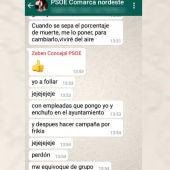 Mensajes machista de un concejal de La Laguna, Tenerife