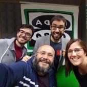 Javier Armentia, José Luis Crespo, Fernando Gomollón