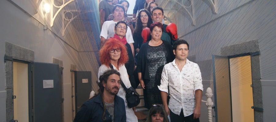 Artistas de la Galería V en La Cárcel Centro de Creación
