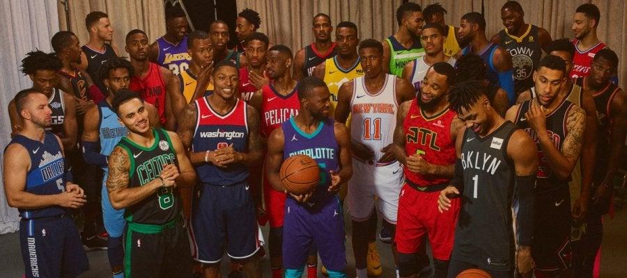 Los 30 equipos de la NBA y sus nuevas camisetas