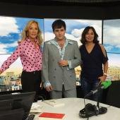 Palomo Spain con Carmen Lomana e Isabel Gemio