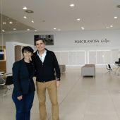 María Gómez y Javier Barbero
