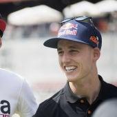 Aleix y Pol Espargaró en el GP de Catalunya