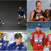 Rivales y compañeros de equipo