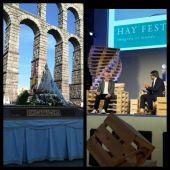 La Bajada de la Fuencisla y el Hay Festival.