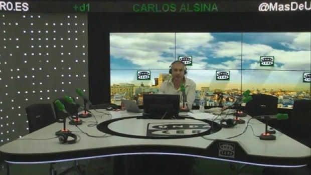 """Monólogo de Alsina: """"Puigdemont quedó retratado como insolvente en su entrevista en Salvados"""""""